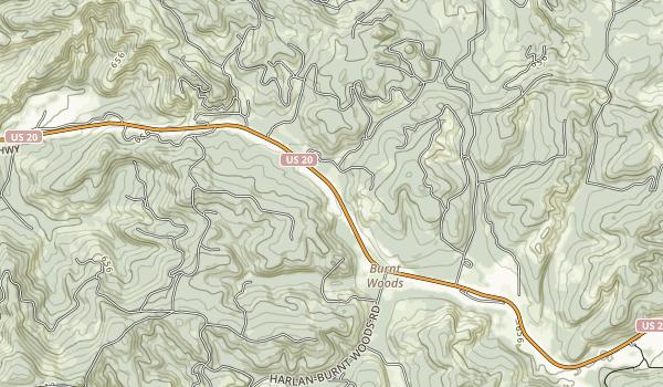 Ellmaker State Wayside Map