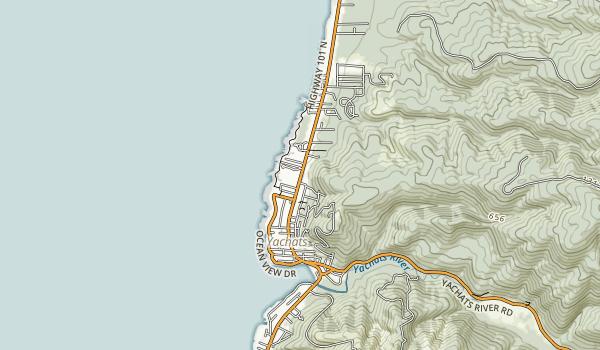 Smelt Sands State Recreation Site Map