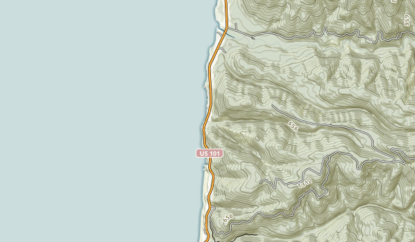 Tokatee Klootchman State Natural Site Map