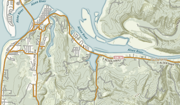 W. B. Nelson State Recreation Site Map