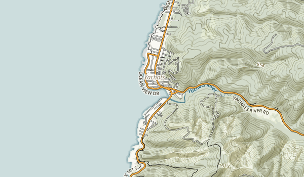 Yachats State Recreation Area Map