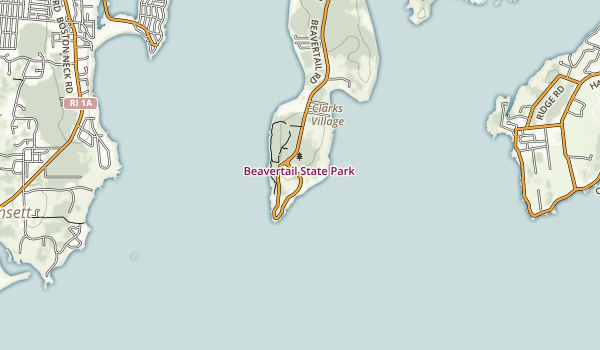 Beavertail State Park Map