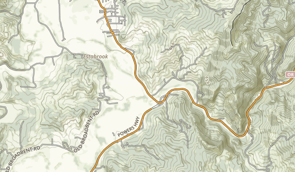 Hoffman Memorial State Wayside Map