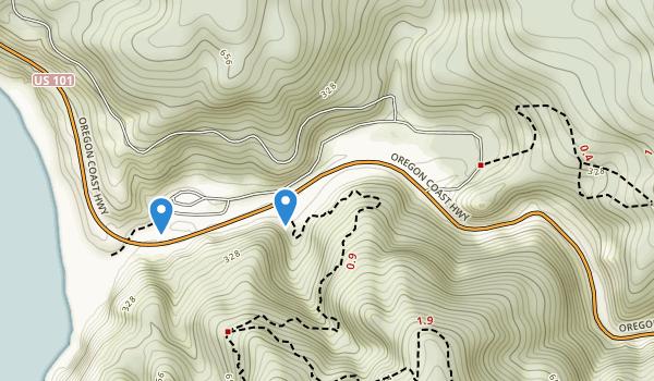 Humbug Mountain State Park Map