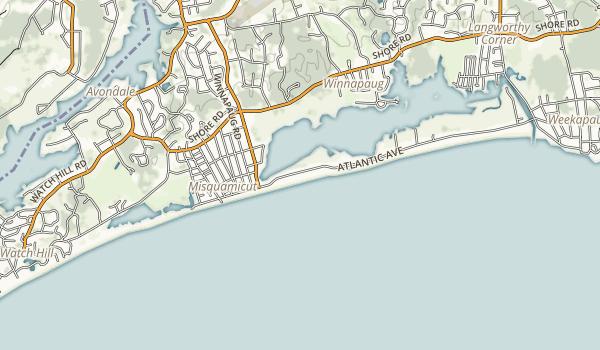 Misquamicut State Beach Map