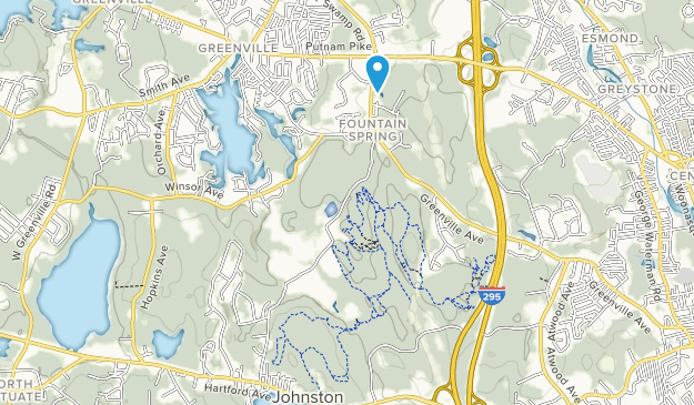 Snake Den State Park Map