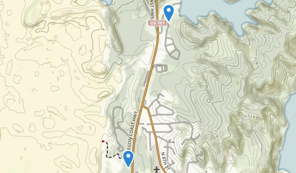 William M. Tugman State Park Map