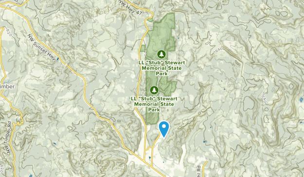 L.L. Stub Stewart State Park Map
