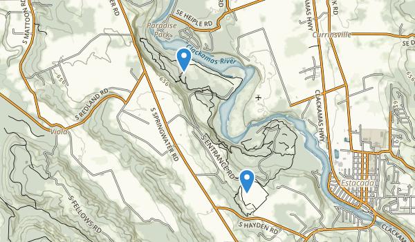 Milo McIver State Park Map