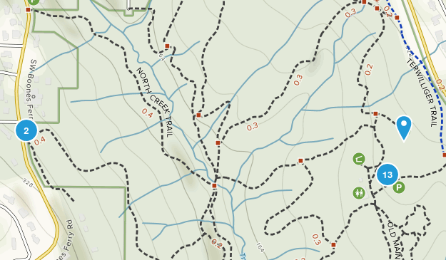 Tryon Creek State Natural Area Map