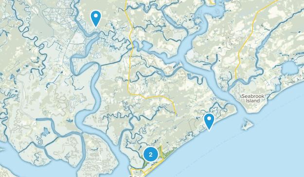 Edisto Beach State Park Map