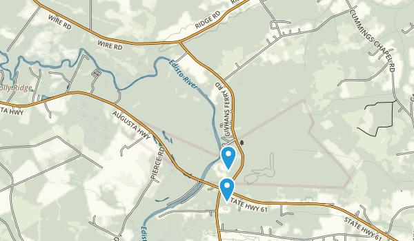 Givhans Ferry State Park Map