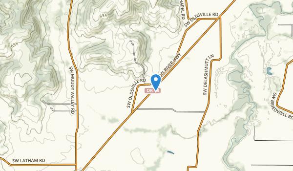 Erratic Rock State Natural Site Map