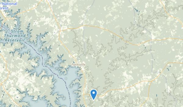 Hamilton Branch State Recreation Area Map