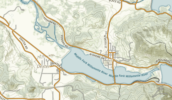 Lowell State Recreation Site Map