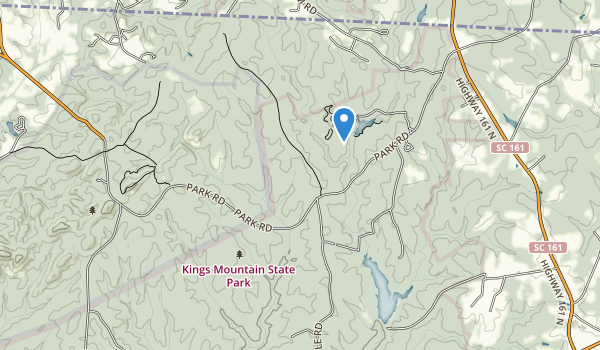 Kings Mountain State Park Map