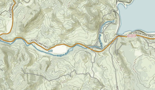 Casey State Recreation Site Map