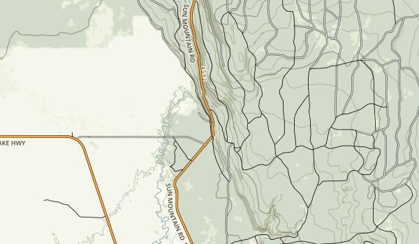 Jackson F. Kimball State Recreation Site Map