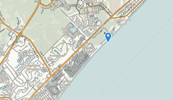 Myrtle Beach State Park Map