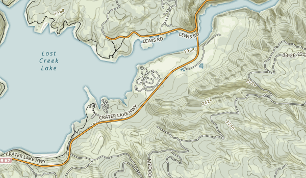 Joseph H. Stewart State Recreation Area Map