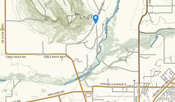 trail locations for TouVelle State Recreation Site
