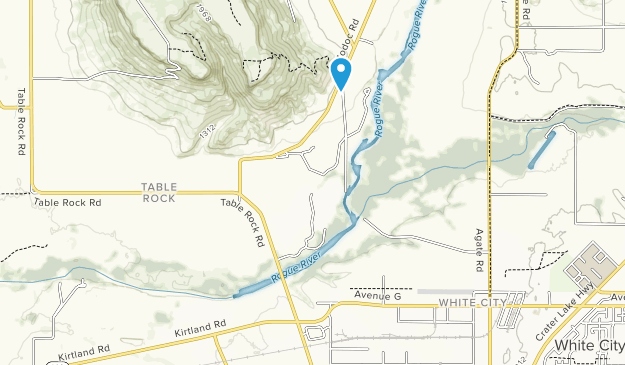 TouVelle State Recreation Site Map