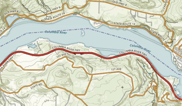 Memaloose State Park Map