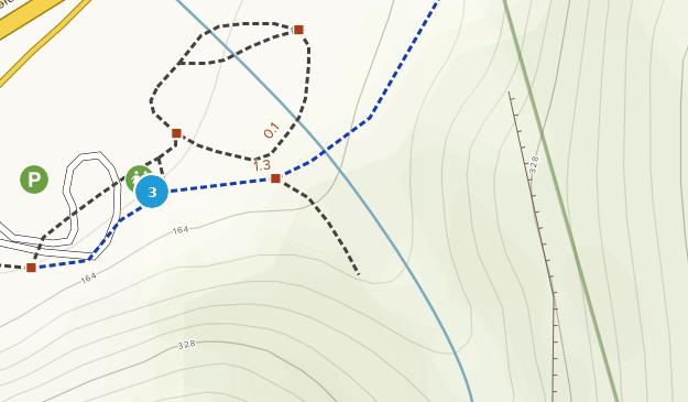Parque Estatal de Starvation Creek Map