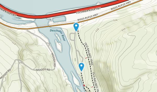 Deschutes River State Recreation Area Map