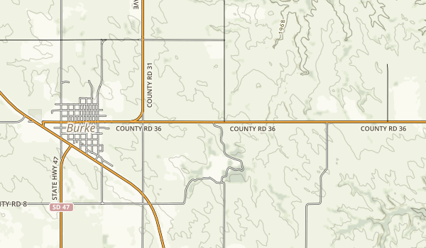 Burke Lake Recreation Area Map