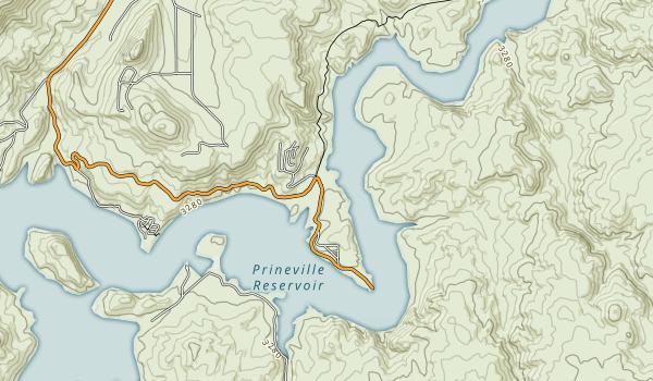 Jasper Point (Prineville Reservoir) Map