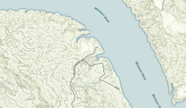 Buryanek Recreation Area Map
