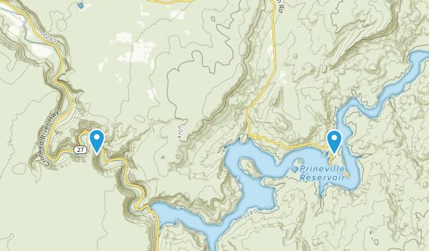 Parque Estatal Prineville Reservoir Map