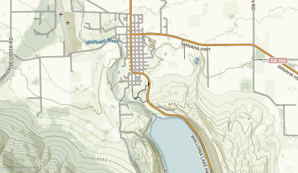 Iwetemlaykin State Heritage Site Map