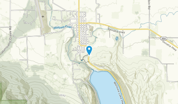 Iwetemlaykin State Heritage Site Map