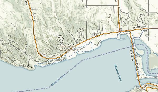 Lewis & Clark Recreation Area Map