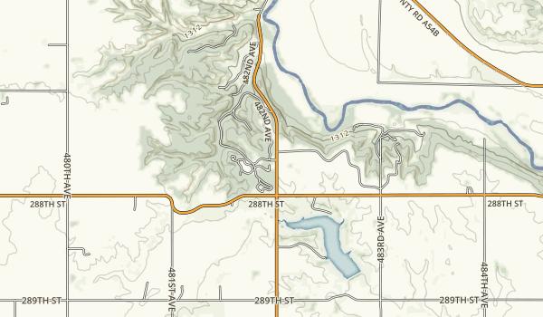 Newton Hills State Park Map
