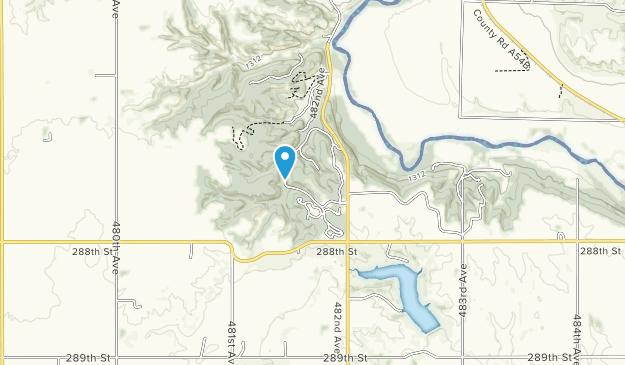 Parque Estatal Newton Hills Map
