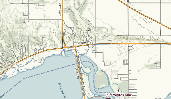 Pierson Ranch Recreation Area Map