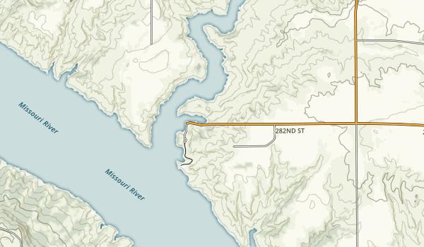 Platte Creek Recreation Area Map