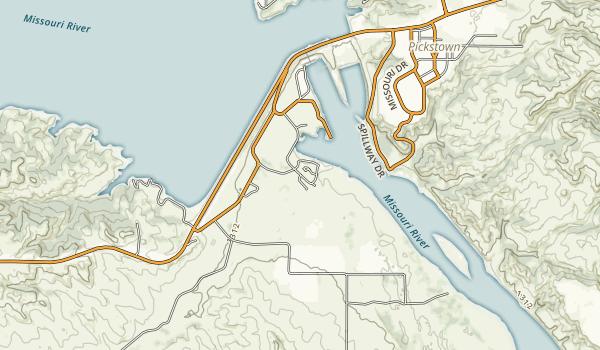Randall Creek Recreation Area Map