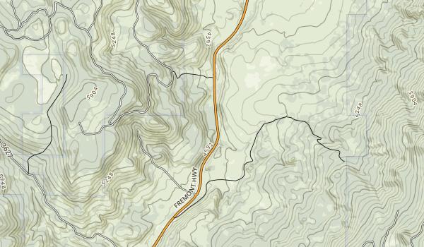 Chandler State Wayside Map