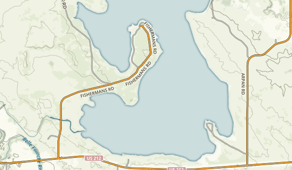 Rocky Point Recreation Area Map
