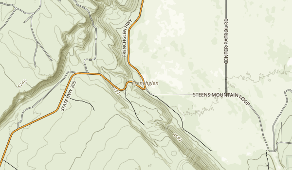 Frenchglen Hotel State Heritage Site Map
