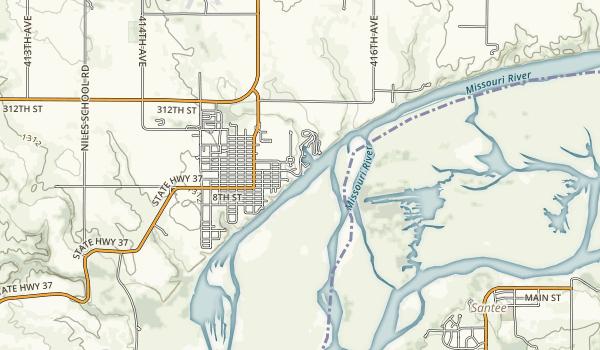 Springfield Recreation Area Map