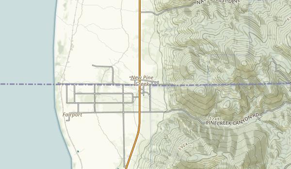 Goose Lake State Recreation Area Map