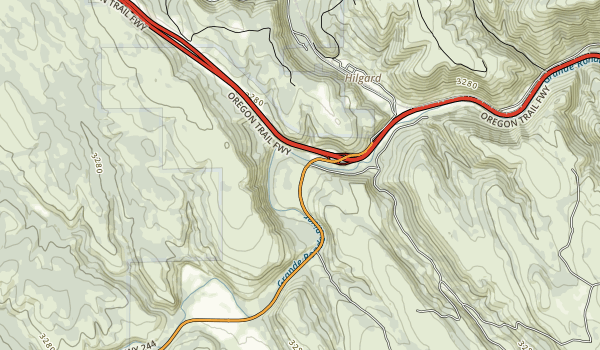 Hilgard Junction State Park Map