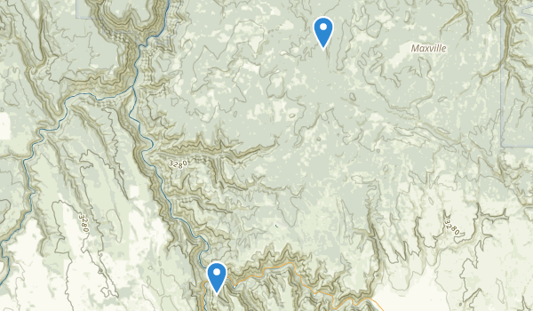 Minam State Recreation Area Map