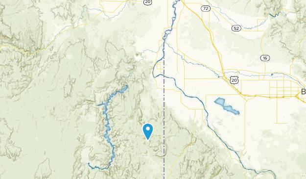 Succor Creek State Natural Area Map