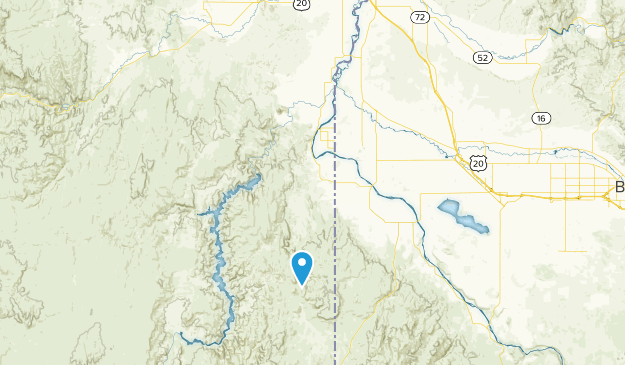 Succor Creek State Natural Area Map